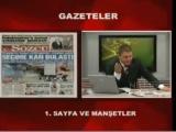 Canlı yayında Taraf gazetesini yırttı