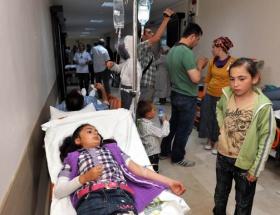 Trabzonda 60 öğrenci zehirlendi