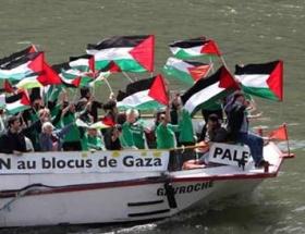 Gazze filosu Yunanistandan izin bekliyor