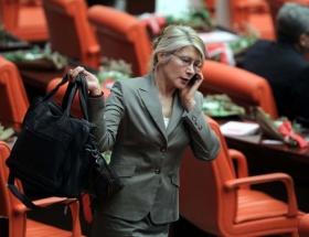Meclisin tek kadın başkanvekili