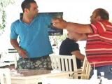 Şanslı Masada kavga çıktı