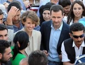 Esad ailesiyle Tahrana gitti