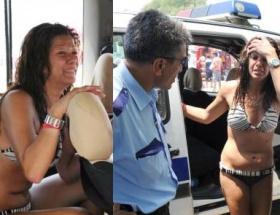 Kanadalı turisti polis kurtardı