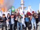 Ankaradaki patlama anı kamerada