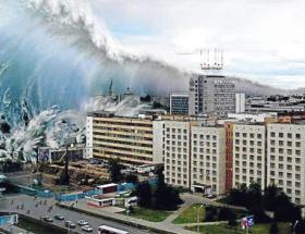 Tsunami oldu telefonum ıslandı
