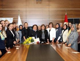 AK Parti Kadın Kollarında devir teslim