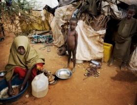 Somalide kıtlık artıyor