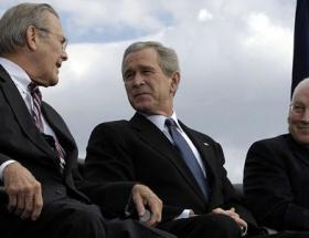 Bush şimdi yandı !
