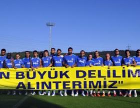 Fenerbahçeden pankartlı mesaj