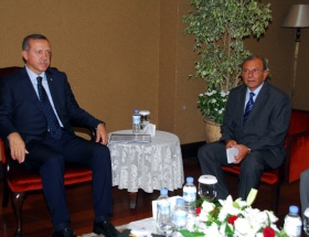 Erdoğan, iş adamlarıyla görüştü