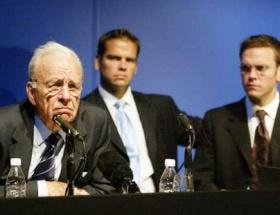 Murdochın oğlu görevinden istifa etti