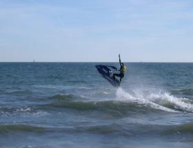 Jet ski kazası: 1 ölü, 1 yaralı