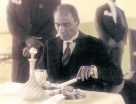 Atatürk için jöle-rakı üretilmiş