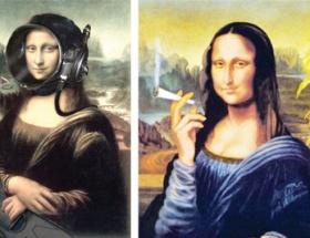 Mona Lisanın çekmediği kalmadı