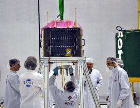 İlk yerli uydu uzayda
