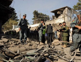 Afganistanın başkenti Kabilde patlama