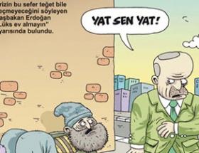 Kapakta yine Erdoğan var