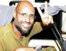 Kaddafinin oğlu sağlıklı görünüyor