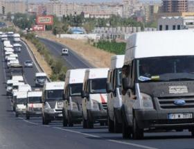 Sivil araçlarla sınıra 2 bin asker
