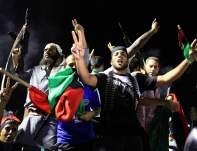Libyalı polislerin üniformaları Türkiyeden