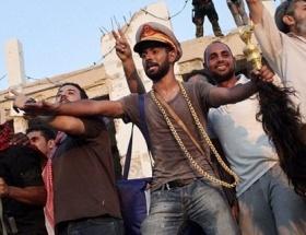 Kaddafinin sarayı artık muhaliflerin