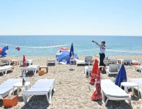 Antalya Konyaaltı plajında patlama !