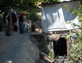 Kaçak maden ocağında kaza