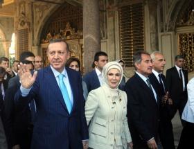 Topkapı Sarayında açılış töreni