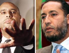 Kaddafinin oğulları ayrı düştü!