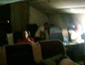 THY uçağında büyük skandal