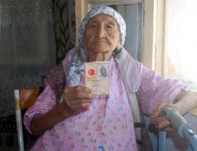 Dünyanın en yaşlı kadını bir Türk