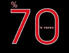%70lik indirimler de işe yaramadı