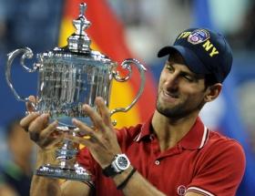 ABD Açık Novak Djokovicin