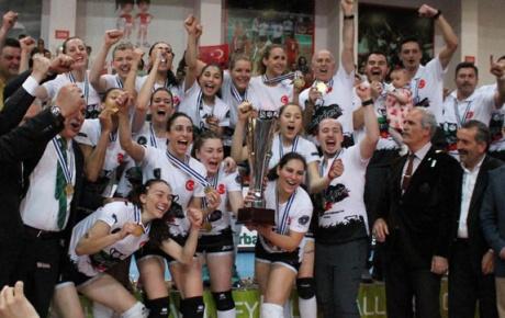 Bursa Büyükşehir ikinci kez Avrupa Şampiyonu oldu