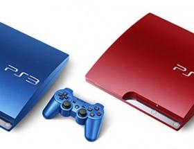Sonyden renkli PS3 sürprizi