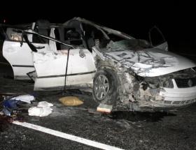 Bayburtta trafik kazası: 3 ölü