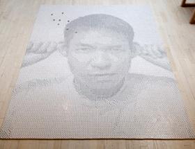 13.138 adet zarla portre yapıldı