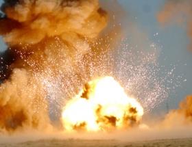 Pazarcıkta patlama: 1 ölü