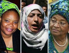 Nobel Barış Ödülü 3 kadına