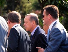Erdoğan evinde dinleniyor