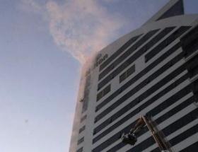 Hilton Bursa Otelinde yangın