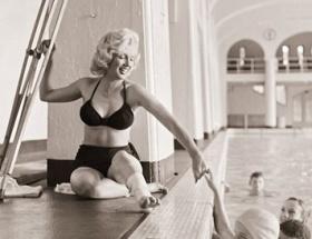 Monroenun fotoğrafları sergileniyor