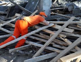 Hastane inşaatı çöktü: 4 yaralı
