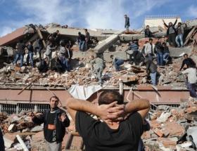 Depremde ölü sayısı 550