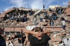 Vandaki depremden ilk fotoğraflar