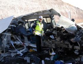 Zincirleme trafik kazası: 5 ölü
