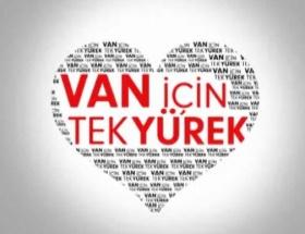 Van için tek yürek!