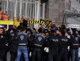 Taraftarlar Fenerbahçeye destek verdi