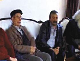 Depremde PKKlının evine taziye ziyareti