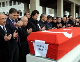 Çakırın cenazesi toprağa verildi